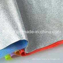 Colorida hoja rígida del PVC transparente brillante para la decoración del sostenedor de vela