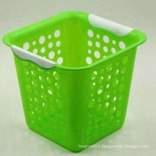 2018 china OEM high quality plastic injection dust basket molding basket mould supplier