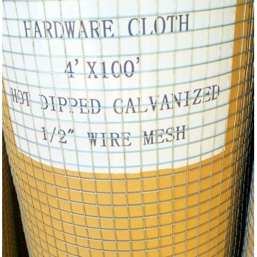1/2 Galvanized Dilas Wire Hardware Cloth Animal Fence