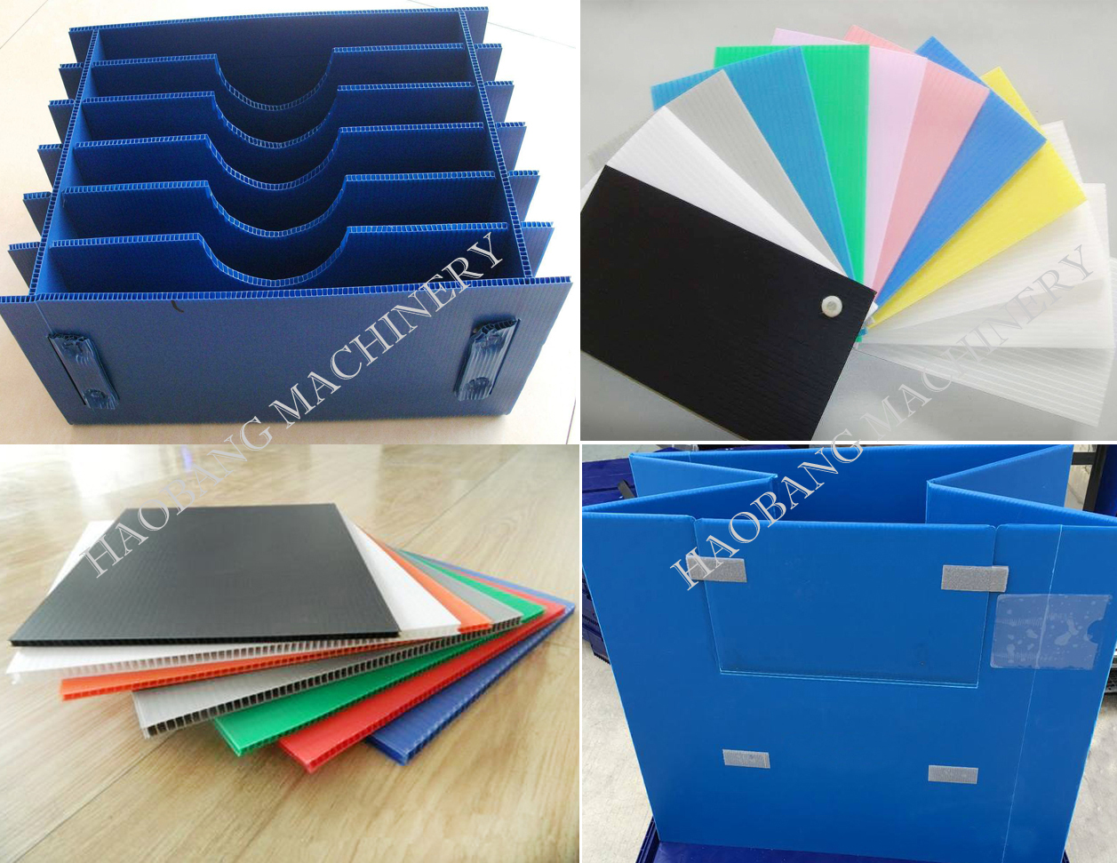 PC PP hollow sheet product (6)