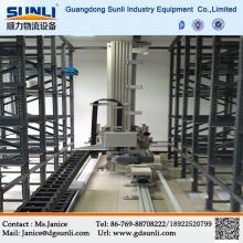 В Китае автоматический стерео склад металла