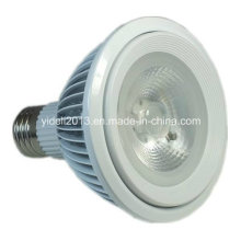 New 18W Fin 1600lm Pure White COB LED PAR 38 LED Lamp