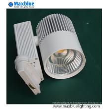 Lampe de piste LED standard européenne avec Citizen LED et Philips Driver