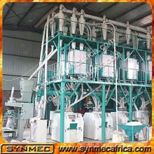 Industrielle Mühlen für Mais, Mais Verarbeitungslinie, Mais-Fräsmaschine und Preis