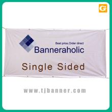Bannière de tissu personnalisée avec matériel avec support technique à long terme