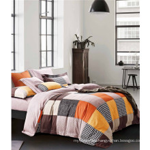 100% Cotton Comforter Set with Duvet, Flat Sheet and Bed Skirt
