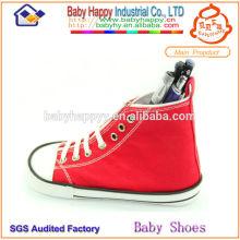 Bolso rojo de la forma de la forma de los zapatos