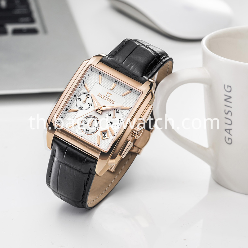 Stainless Steel Gold Watch