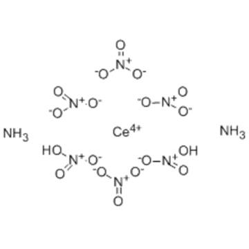 Cerate(2-),hexakis(nitrato-kO)-,ammonium (1:2),( 57278785,OC-6-11) CAS 16774-21-3