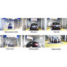 Touchless Good Quality Automatic Car Washing Machine