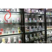 Copas de café de cerámica promocionales, taza de café de cerámica, tazas de café de lujo