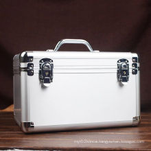 Silver Brushed Aluminum Tool Case Whit Zinc Alloy Handle (KeLi-D-02)