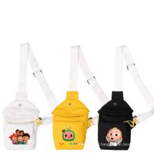 Wholesale Cocomelon Bag Canvas Chest Bag Toddler Cocomelon Crossbody Bags