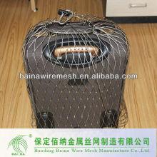 Malla de alambre metálico para bolsas antirrobo