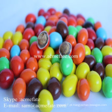 Os melhores fornecedores de chocolate por atacado de feijão com chocolate revestido de doces