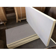 White Color Coated Galvanized Rockwool Sandwich
