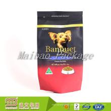 La Fábrica de China Al Por Mayor Barato Personalizado Etiqueta Privada Material Laminado Plástico Alimentos Para Perros Bolsa de Alimentos para Mascotas Empaquetado