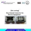 Zinc Zamak Connector for Electric Equipment
