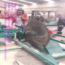 Scierie circulaire en bois diesel pour le travail du bois