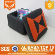 SUMENG Comfortable softer foam footstool, storage footstool