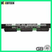 high polymer Steel Tube Conveyor Roller conveyor roller for mining transportation equipments