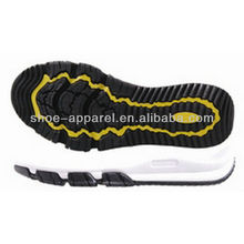 EVA+RB sport running shoes sole manafacturer