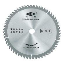 Lame de scie circulaire Tct pour la coupe du bois et de l'aluminium