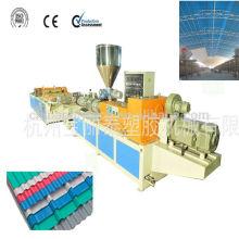 techo de plástico hoja Co haciendo machine/PVC plástico producto extrusora