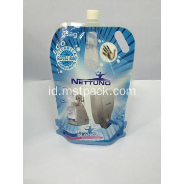 2L Spout Pouch dengan Handle