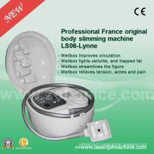 Ls06 White Wellbox Massage du visage Traitement de la peau et du corps Machine de beauté amincissante portable