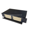 48 Cores Optical Fibre Patch Panel Pull - push Type