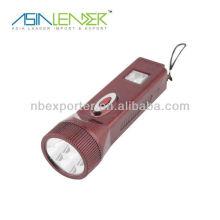 5 LED-Taschenlampe wiederaufladbare Batterie
