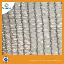 Filet de protection agricole tricoté PE chaîne tricoté recyclé avec protection UV