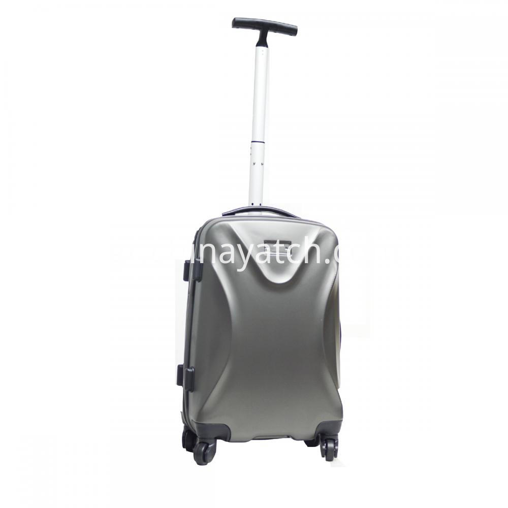 ABS Spinner Luggage Set with Single Trolley