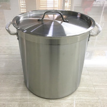 Commercial Deep Stainless Steel Cater Stew Soup/ Boiling Pan
