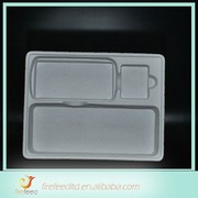 Wholesale High Quality artware thermoformed flocking plastic tray