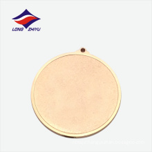 Bronze plated sports match custom logo medal