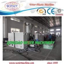 Exportado para a Coreia da linha de produção de folha de grade de PP de plástico