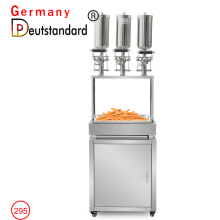 churros filler with cabinet 5L churros filling machine