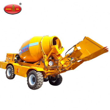 Self Loading Mobile Transit Cement Mixer Trucks