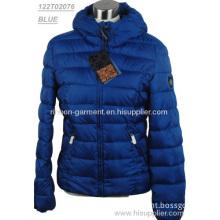 2013 Bright Blue Stylish Ladies' Winter Jacket.