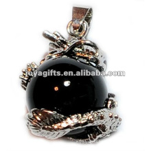 Dragon Ball Pendant with 15MM Hematite Ball