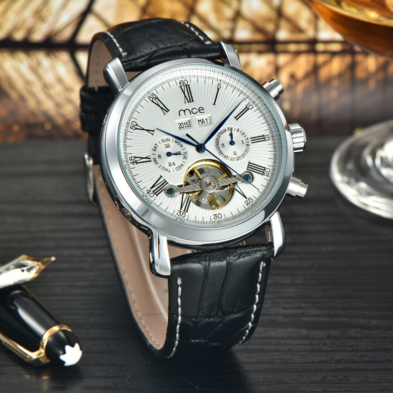 oem automatic automatic tourbillon wrist watch