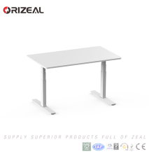 2018 Hot Product Electric Height Adjustable Stand Up Desk with Three-Stages