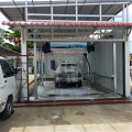 Laser car wash automatic car washing system