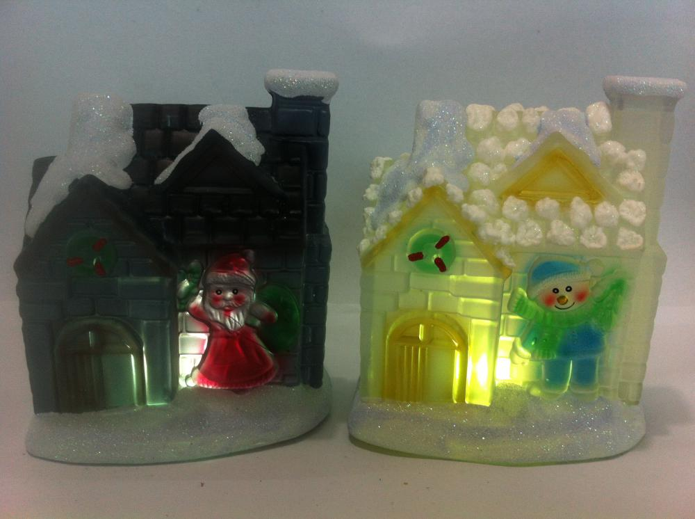 Resin Christmas House Gifts