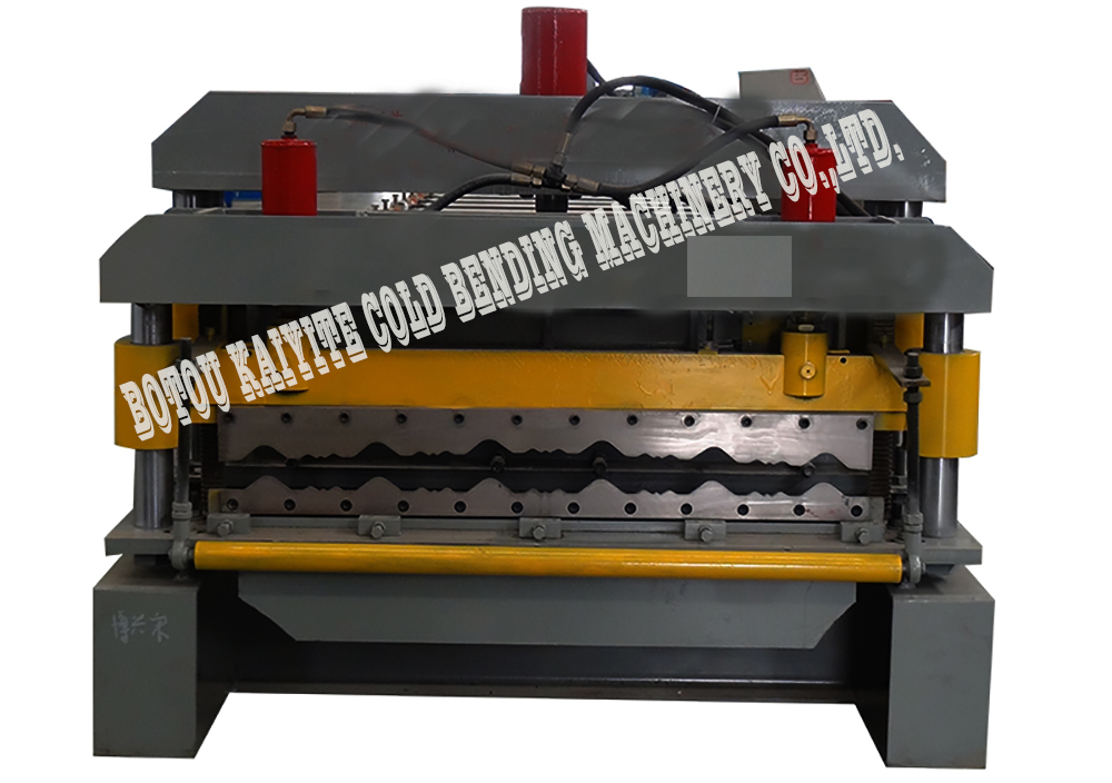Glazed Roof Tiles Machine