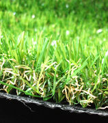 Synthetic turf grass for garden, landscape and leisure, PE grass yarn