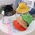 Sombrero anti-gotas Orange Frog para niños