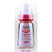 120ml Neutral Boroslicate Glass Baby Feeding Bottle